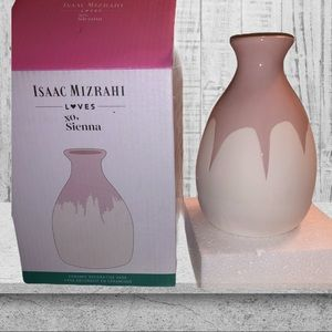 New!! Isaac mizrahi loves xo, Sienna vase!